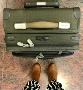 Briggs & Riley carry-on suitcase