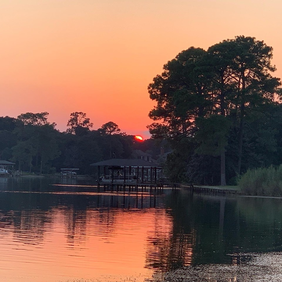 Pensacola sunset Erika Reid Bell blog
