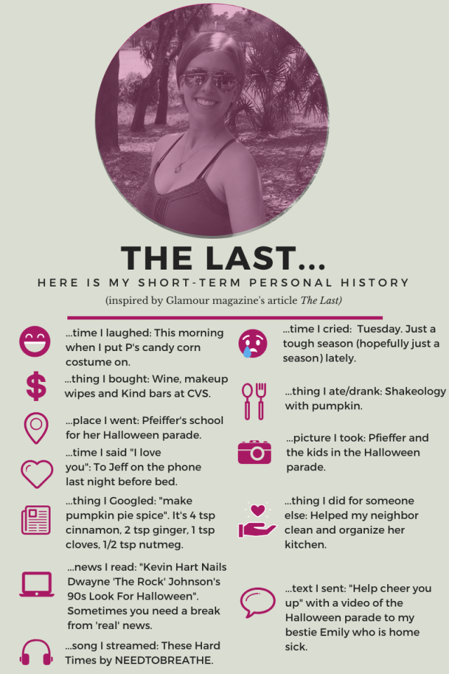 The Last...(October 2019 edition)